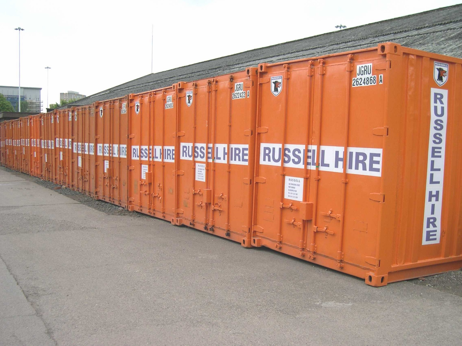 Container Hire, Self Store and Sales